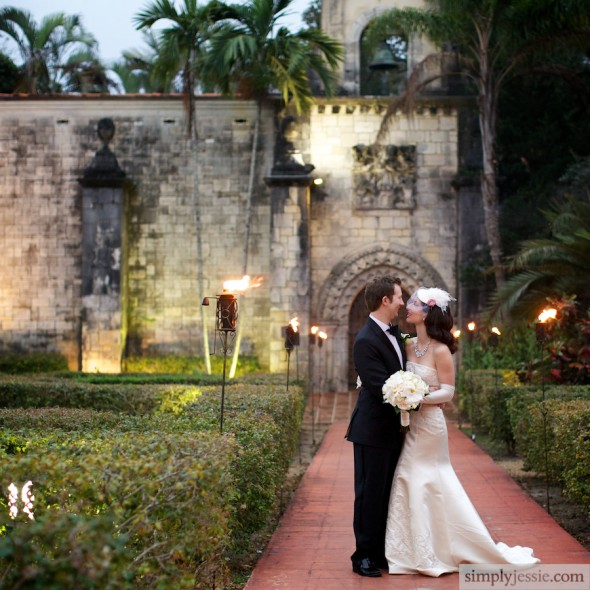 Miami Spanish Monestary Wedding Photography