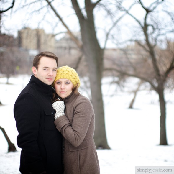 Midwest Winter Engagement