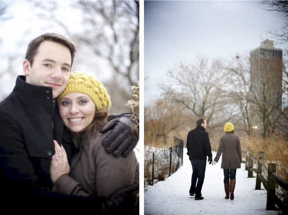 North Pond Engagement & Wedding Photography