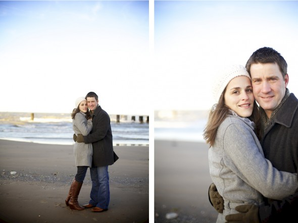 Chicago Lake Michigan Engagement