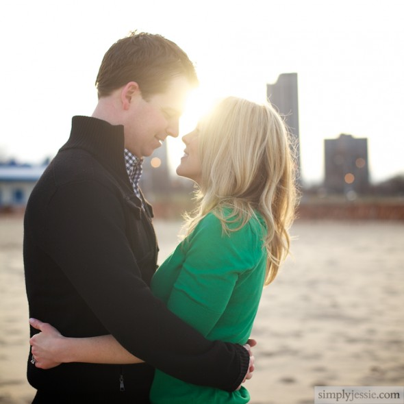 Chicago Romantic Wedding Photography