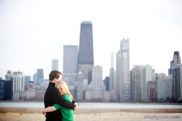 North Ave Beach Engagement