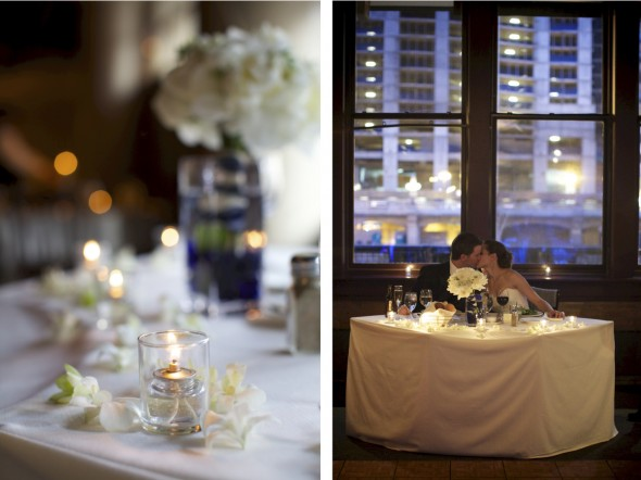 Romantic Reception at Fulton's on the River
