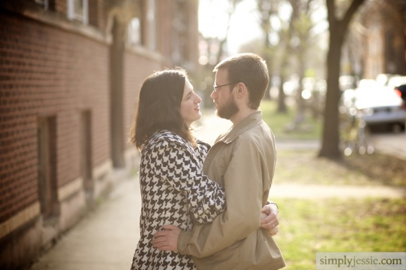 Chicago Spring Engagement