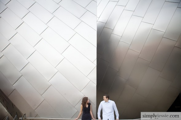 Modern Chicago Engagement Photography 2