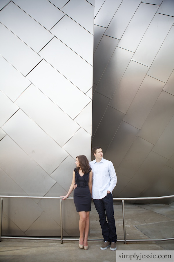 Modern Chicago IL Engagement