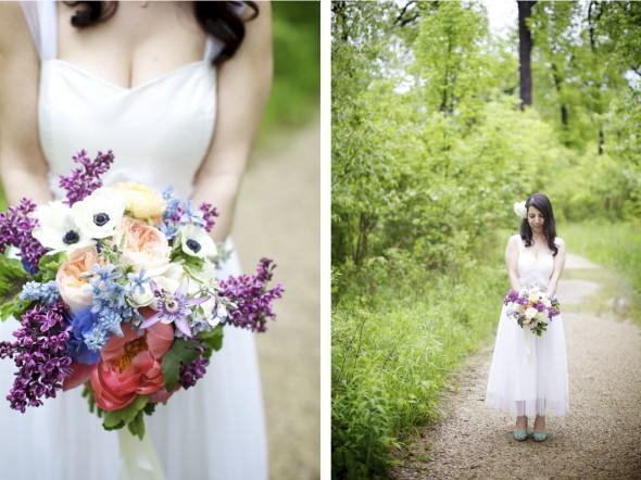 Bridal bouquet from Fleur Inc