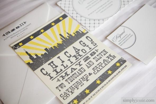 Courtney Callahan Paper MCA wedding