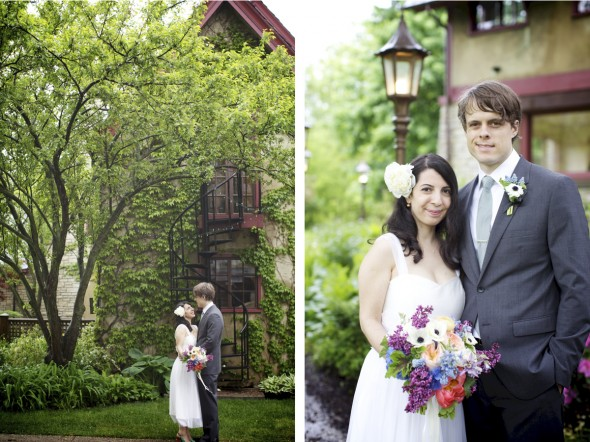 Garden Wedding, Chicago IL