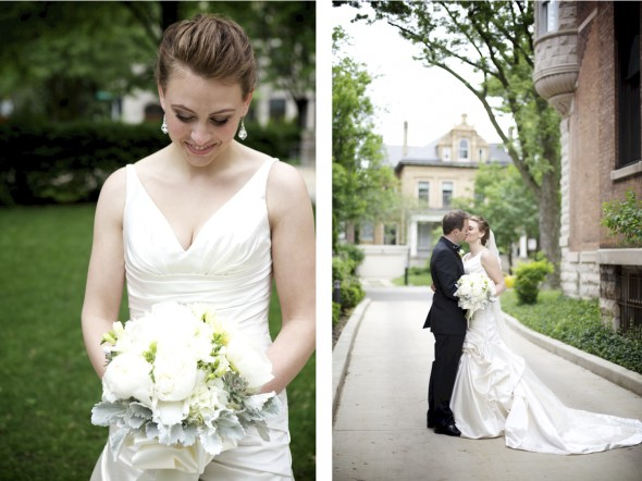 Lincoln Park bride in Chicago