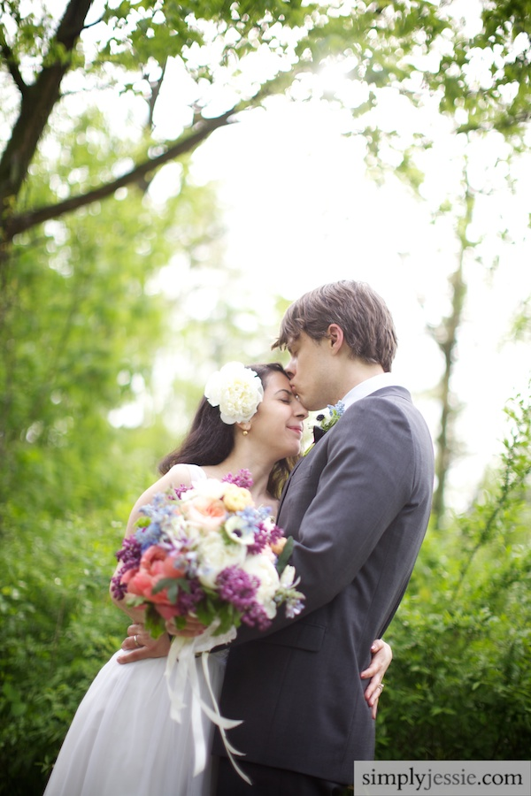 Vintage Modern Chicago Wedding Photography