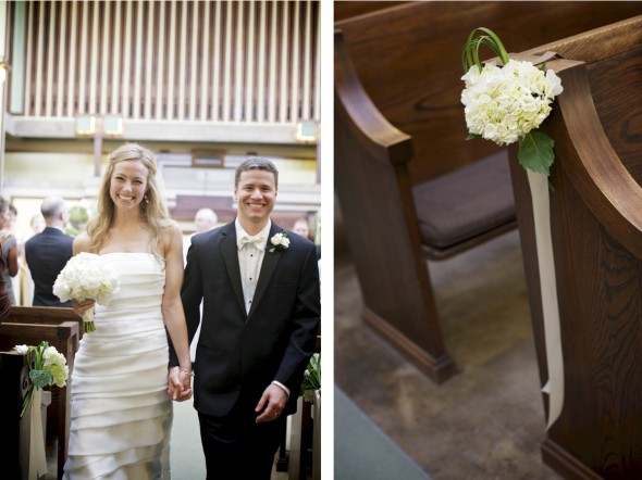 Wedding In Unity Temple, Oak Park