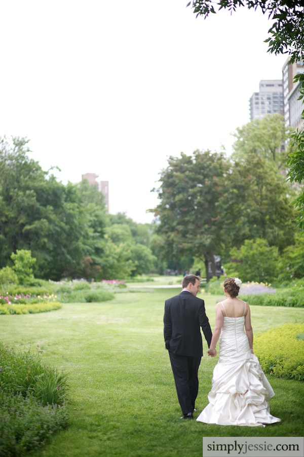Wedding in Lincoln Park Chicago