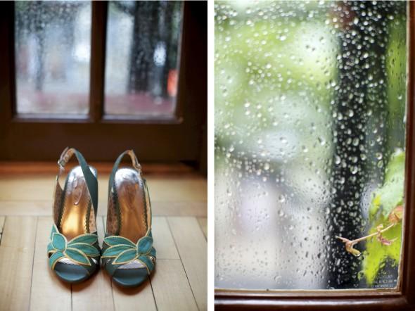 Wedding on Rainy Chicago day