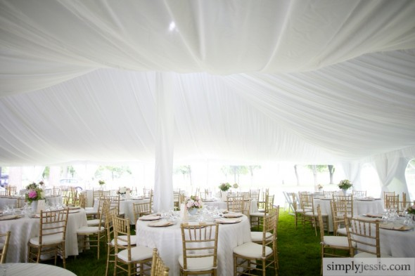 Bloomington Country Club Wedding Reception