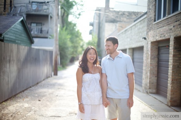 Chicago Il Engagement Photography