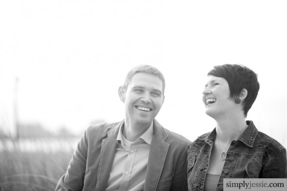 Laughing Engagement Phtoography