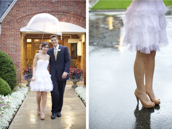 Rainy Midwestern Wedding