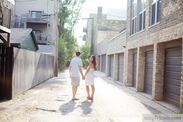 Urban Chicago Engagement Session