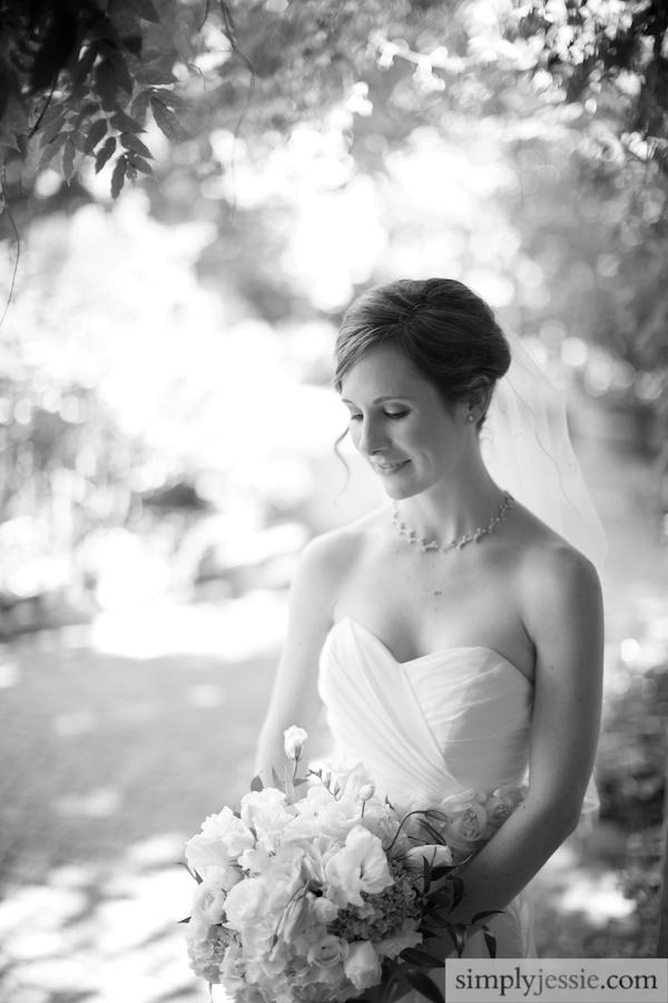 Bride Portrait in Morton Arboretum
