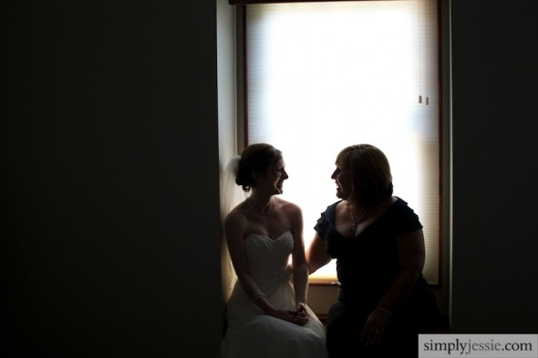 Bride and Mother