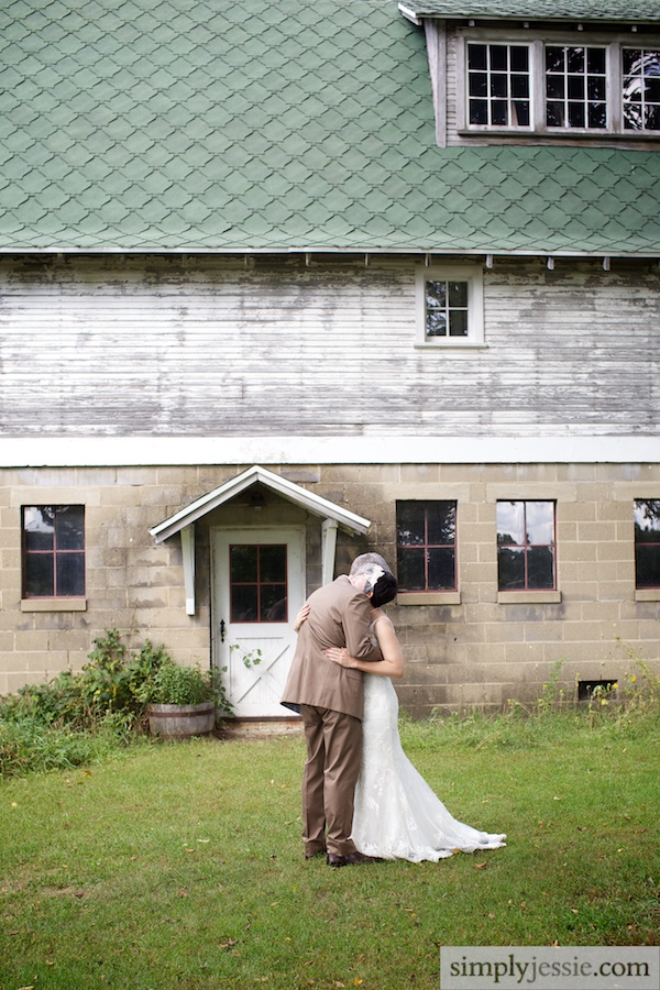 Michigan Wedding at Blue Dress Barn