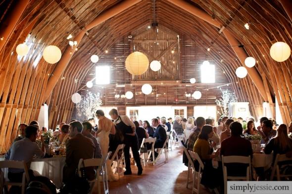 Wedding Reception at Blue Dress Barn Michigan