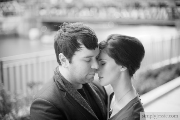 Black & White Emotional Couples Photography