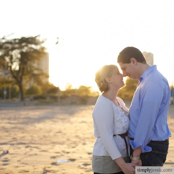 Engagement Photography on beach