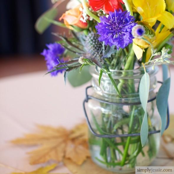 Late summer wedding flowers