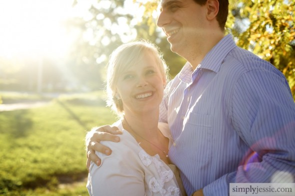 Sun filled wedding & engagement photography