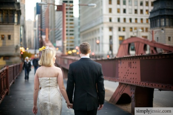 Chicago Bridges Wedding Photography