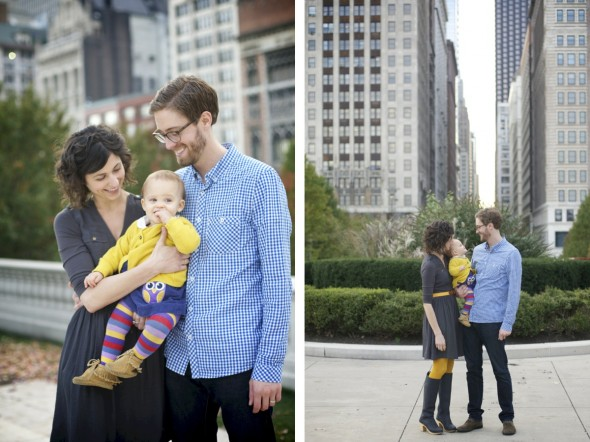 Downtown Chicago Family Photography
