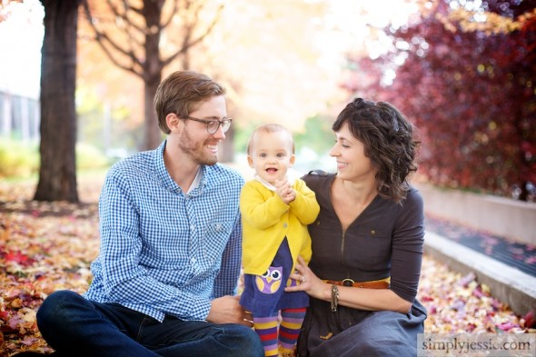 Modern Fall Family Photography