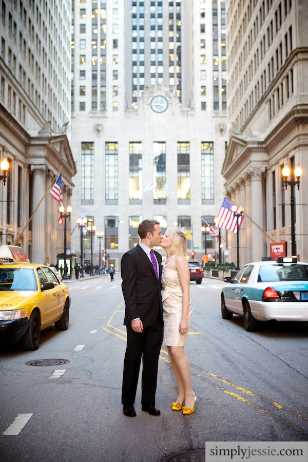 Wedding Photography at Chicago Board of Trade