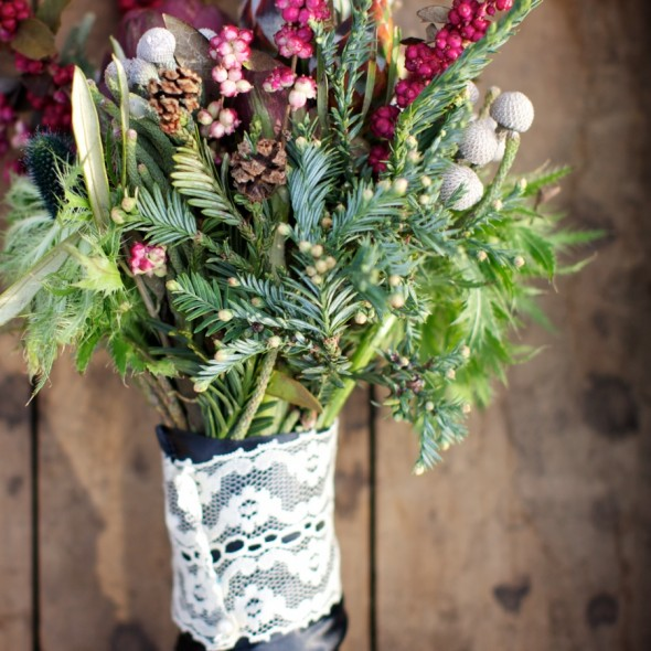 Winter Woodland Boquet