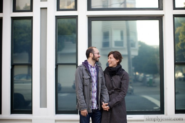 Modern SF Engagement Photography