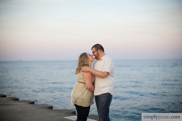 Lake Michigan Engagement