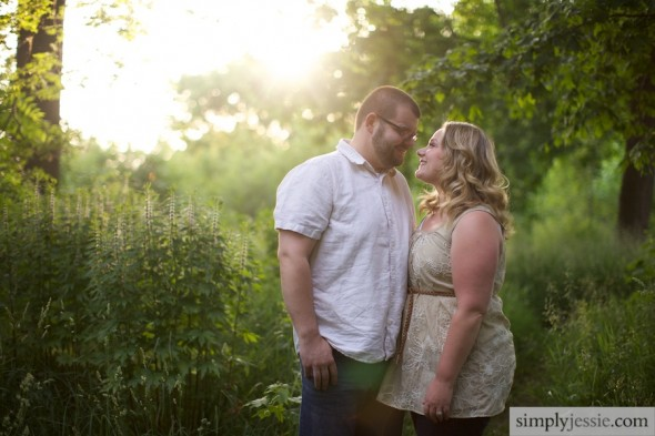 Prairie Engagement Photography, Chicago