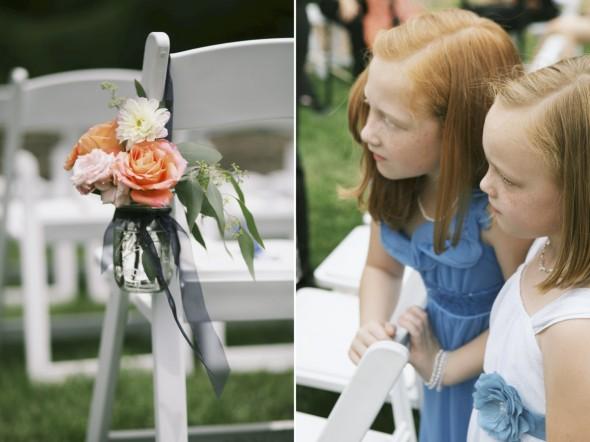 Coral floral Wedding
