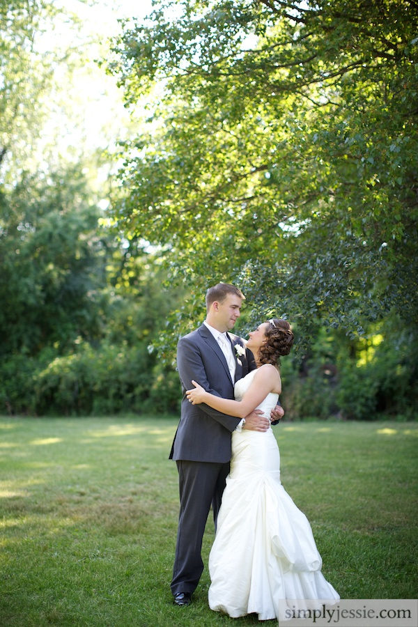 Outdoor Chicago Wedding Photography