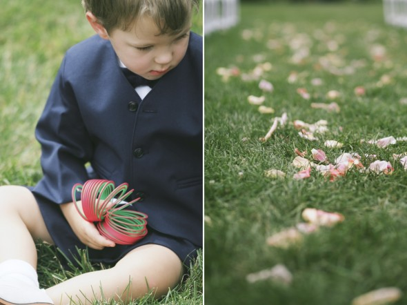 Ringbearer in Navy