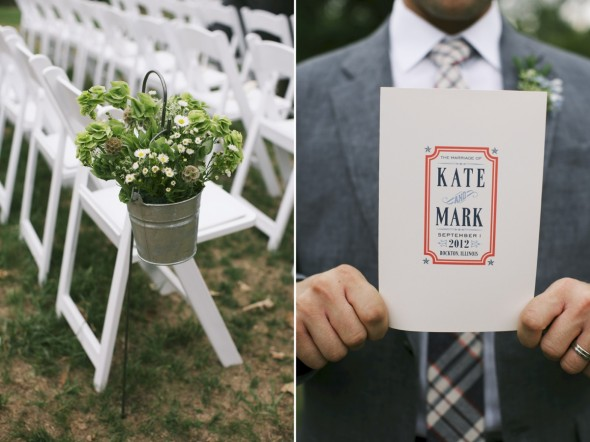 Americana styled wedding