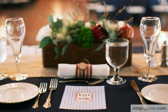 Americana styled wedding ideas