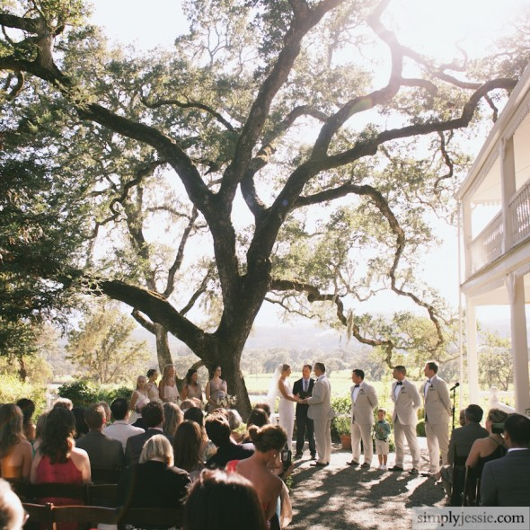 Wedding Ceremony at Beltane Ranch