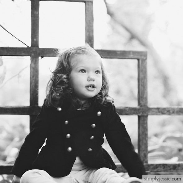 B&W Children's Photography
