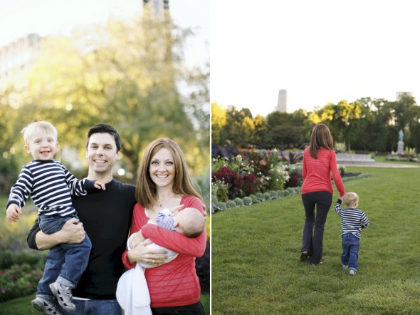 Chicago fall family photography