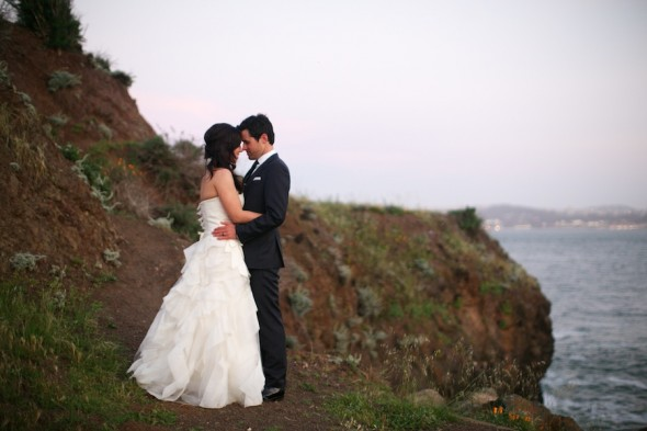 Cliff wedding photography northern california
