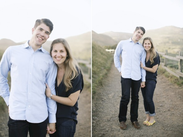 Natural San Francisco Bay Area Engagement Photography