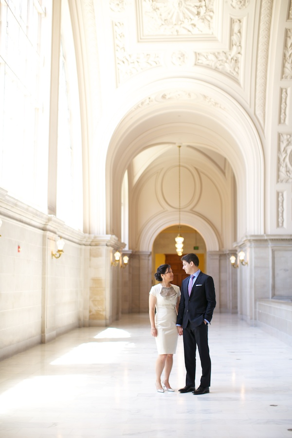 Small Wedding at San Francisco City Hall